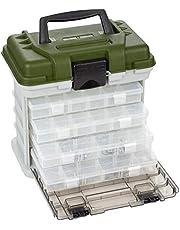 Zite Fiskeväska med 4 tackleboxer för fisketillbehör – stort fack för verktyg i locket