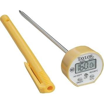 Taylor 9842 Digital termómetro de lectura instantánea: Amazon.es: Hogar