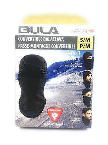 Bula Convertible Balaclava S/M Black
