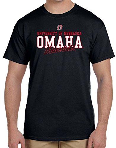 Nebraska Omaha Mavericks Campus Logo T-shirt (Gift Shops Omaha)