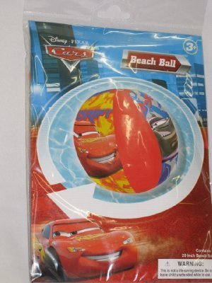 Cars Inflatable 20 Beach Ball by Home and Living