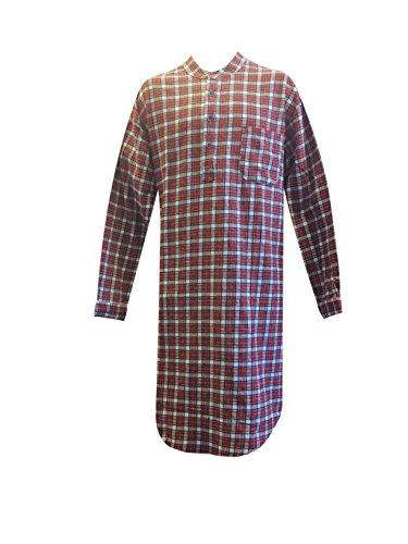 fdc8cbc96b Galleon - Lee Valley Genuine Irish Flannel Nightshirt
