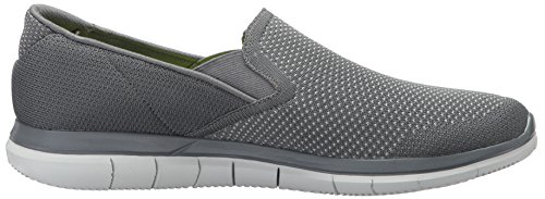 Skechers Mens Go Flex Sneaker 2-maneuver Carbone