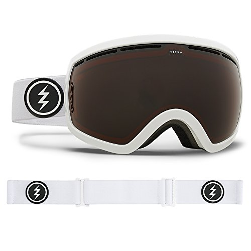 (Electric Visual EG2.5 Gloss White/Brose Snow Goggle)