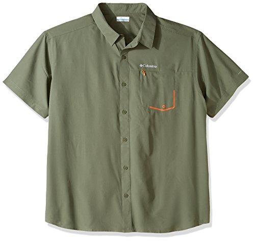 - Columbia Men's Twisted Creek Short Sleeve Shirt, Cypress, X-Large