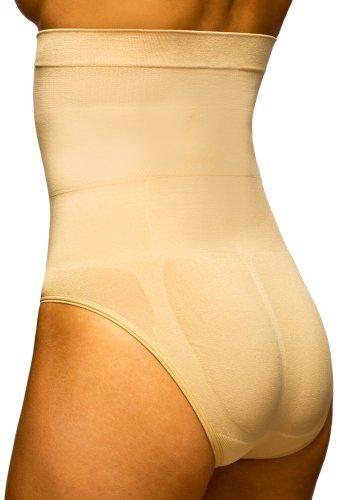 (Body Wrap Women's High Waist Panty,Nude,X-Large)