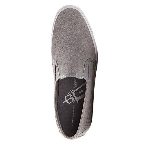 Rockport Hombres de camino a la grandeza Slip On Grey Leather