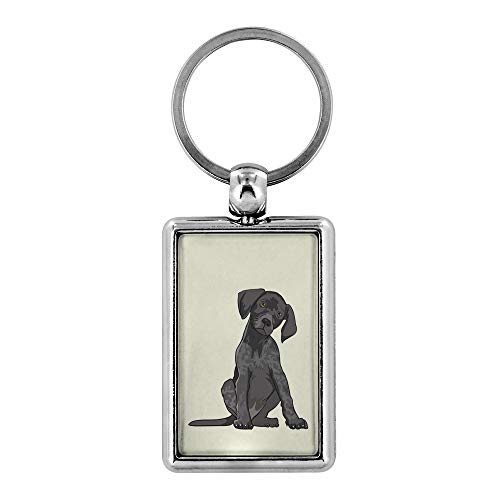 German Shorthaired Pointer Dog Keychain for Men Women Key Chain, Gifts for Dog Lover Mom Dad 9169 (Pointer Dog Keychain)