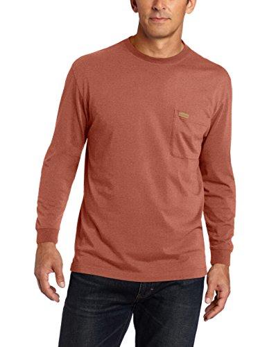Pendleton Men's Deschutes Henley Shirt, Rust Heather, XXL
