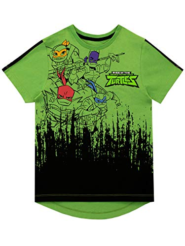 - Teenage Mutant Ninja Turtles Boys' T-Shirt Green Size 5