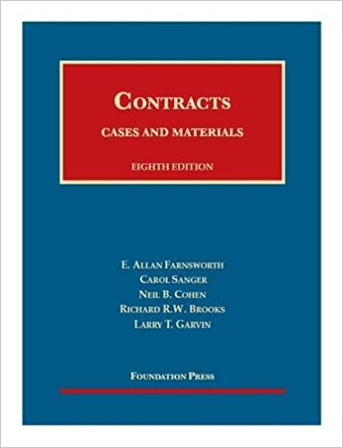 Cases and materials on contracts casebook plus university cases and materials on contracts casebook plus university casebook series 8th edition fandeluxe Image collections