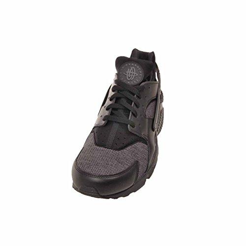 Nike Mens Air Huarache, Black / Dark Grey - Black Black / Dark Grey - Black