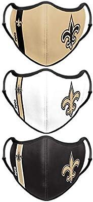 New Orleans Saints NFL Sport 3 Pack Face Cover