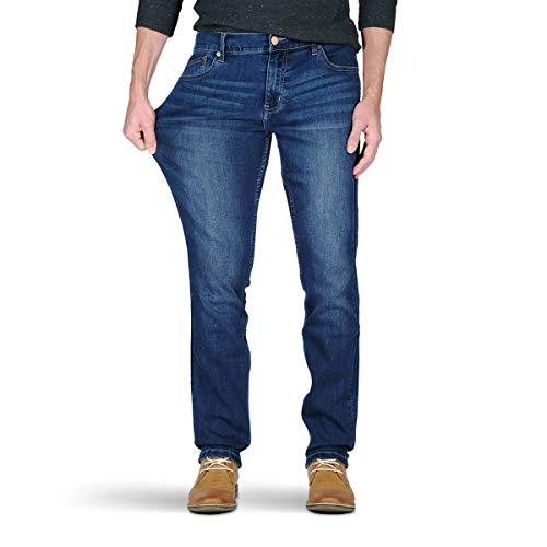 Mugsy Jeans – Kinzies Medium-Dark Blue Jeans – Super Flexible, Comfortable, Stylish
