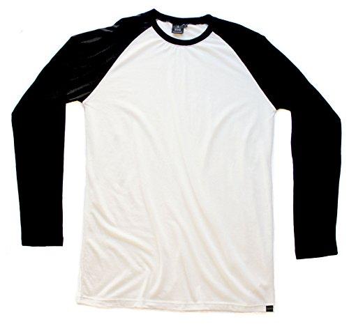 (Hemp Raglan Long Sleeve T-Shirt Armor)
