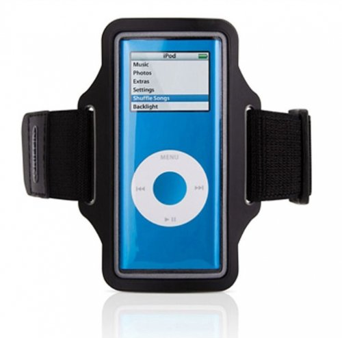 Griffin Streamline Workout Sports Running Armband Case Gym Cover Band Pouch for Apple Ipod Nano 5G / 5th - Nano Pouch Ipod