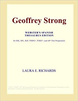 Buy Geoffrey Strong (Webster's Spanish Thesaurus Edition