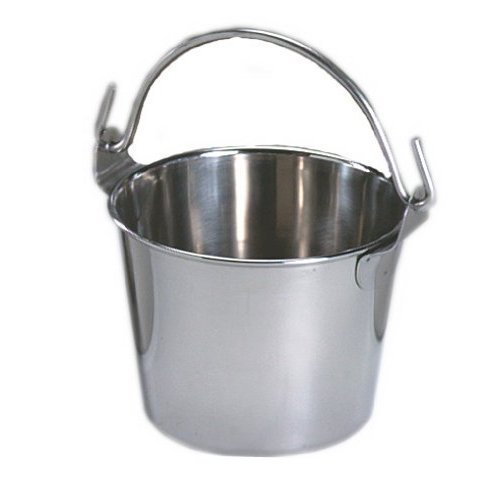 (Lindy's 2-qt Stainless Steel Pail silver)