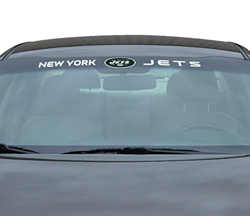 - Team ProMark NFL New York Jets Windshield Decal, Green, Standard