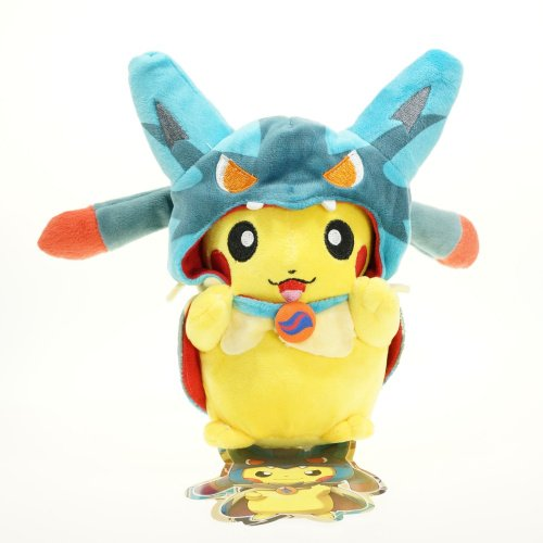 [7.5 inch, Pikachu Cosplay Plush Toys Stuffed Doll (Style#2)] (Spawn Costume For Kids)