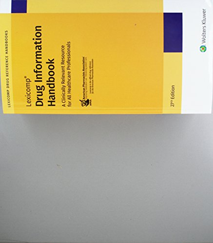 F.r.e.e Drug Information Handbook: A Clinically Relevant Resource for All Healthcare Professionals<br />K.I.N.D.L.E