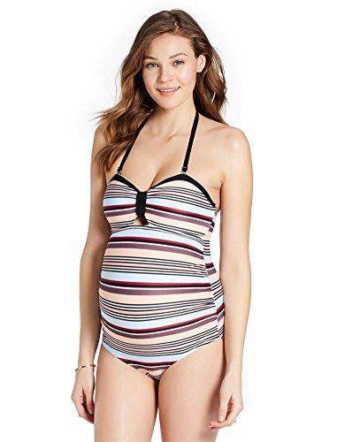 Swimwear Maternity - Jessica Simpson Ruched Maternity Tankini Swimsuit