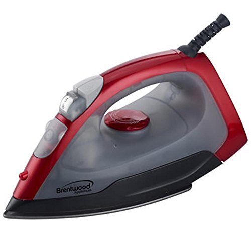 Brentwood Appliances MPI-54 Steam/Spray/Dry Iron, Red by Brentwood Appliances