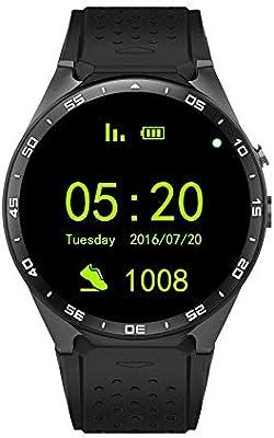 DGdolph Dispositivo de Ritmo cardíaco SmartWatch podómetro ...