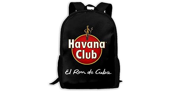 XCNGG Havana Club Mochila Escolar Adolescente Mochila ...