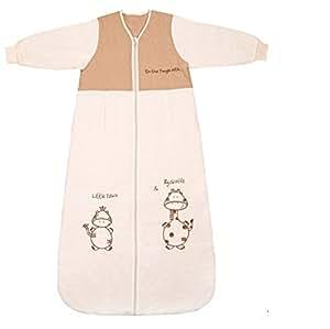 Slumbersac Saco dormir bebé invierno manga larga aprox. 2,5 Tog – de dibujos – varias tallas: de 0 a 6 meses
