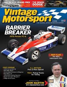 Vintage Motorsport - Magazine Subscription from MagazineLine (Save 35%)