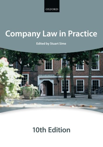 Company Law In Practice (Blackstone Bar Manual)