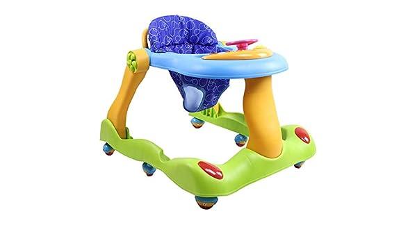 ATGL 2 en 1 bebé Andador, Walker bebé con Freno Plegable, Anti-O ...
