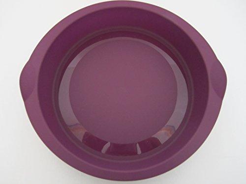 Tupperware Silicone Mould baking forms Purple -  TUPERWARE