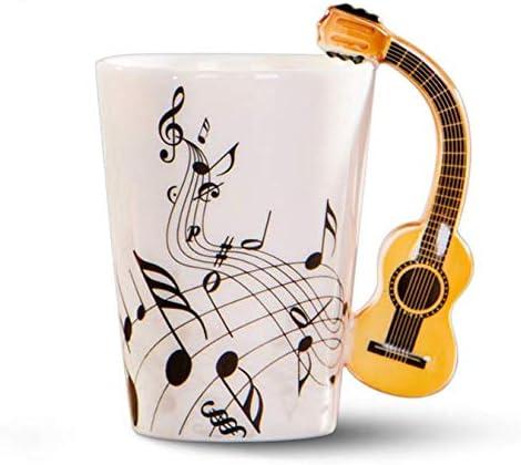 FEJK Taza de Guitarra acústica Música Taza de café Taza de Cerveza ...