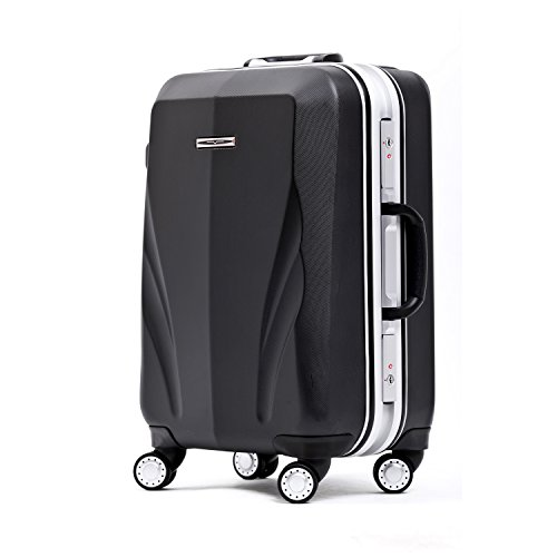 Unitravel Lightweight Luggage Hardside PC Suitcase Spinner Carry on Travel Gear by Unitravel
