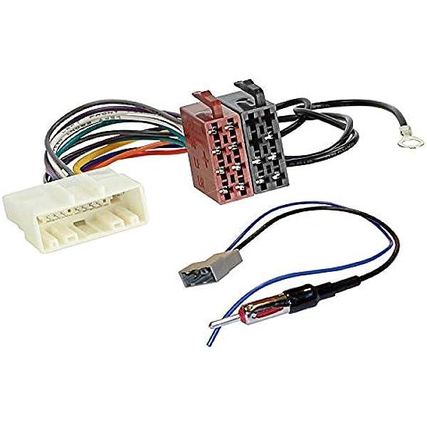 Sound-Way Autoradio Cable Conector Adaptador ISO Enchufe y ...