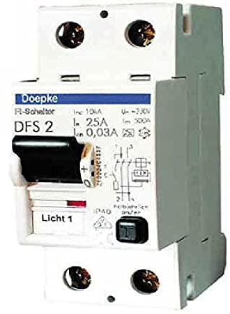 DOEPKE FI-Schalter DFS2 025-02/0,03-A 9124601: Amazon.de: Elektronik