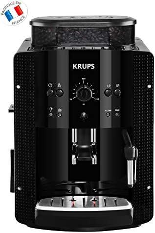 Krups YY8125FD - Máquina espresso, automática, de café molido, 1400 W, 1.6 L, negro: Amazon.es: Hogar