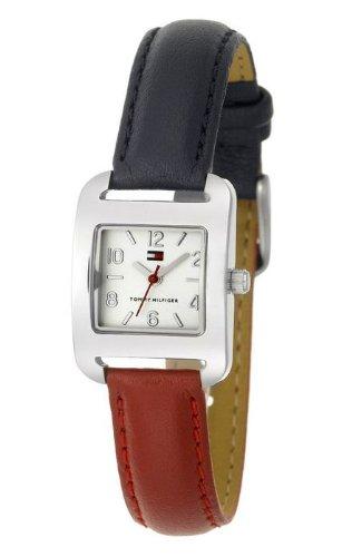 Tommy Hilfiger - Reloj para mujer correa reversible, color azul y roja: Amazon.es: Relojes