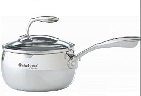 Olla de acero inoxidable Tupperware Chef Serie 4 l: Amazon