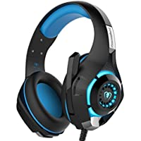 YUNQE Gaming Headset for Xbox One PS4 PC,GM-1 3.5 mm...