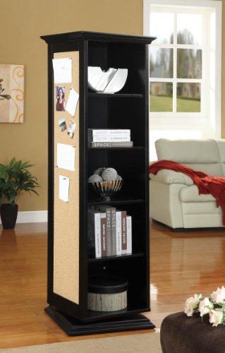 Coaster Swivel Cabinet-Black