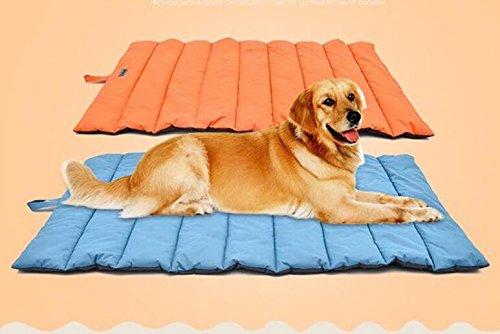 Whyyudan Cama para mascotas, funda de cama para perros y gatos ultrasuaves de tamaño grande, mantas para cama de cachorros resistentes al agua para uso en ...