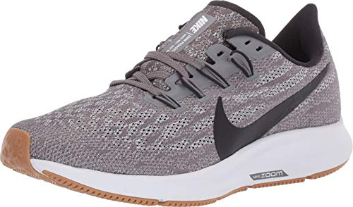 Nike Women's Air Zoom Pegasus 36 Running Shoe Gunsmoke/Oil Grey/White Size 8.5 M US
