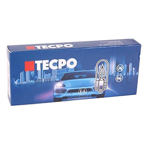 TECPO 10 x Cristal Socket de Bombillas W5 W Luz de posicin ...