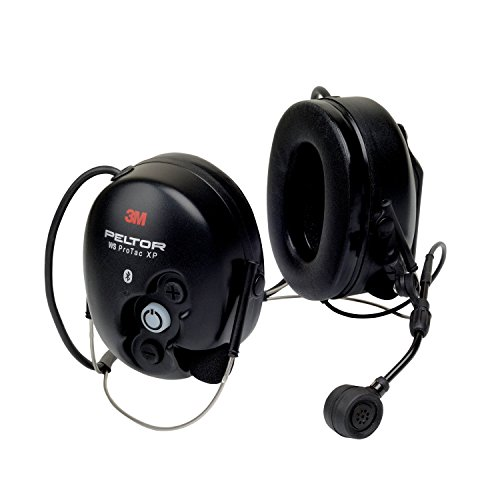 3M PELTOR 06320 WS ProTac XP Communication Headset featuring Bluetooth technology - Neckband, One Size, black by 3M Personal Protective Equipment (Image #1)