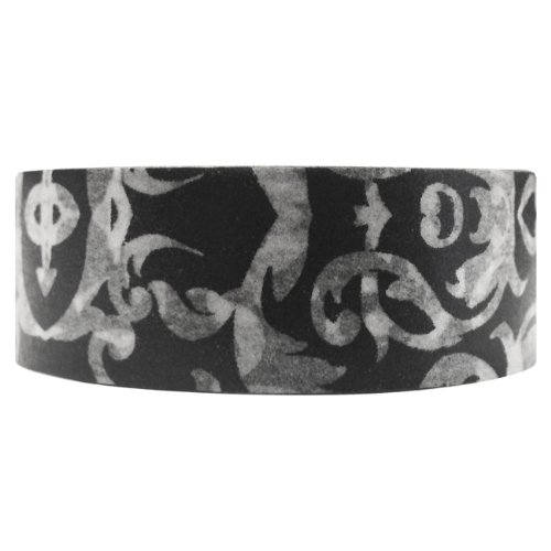 Wrapables Damask Washi Masking Gothic