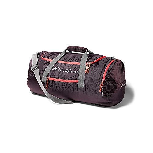 Eddie Bauer Unisex-Adult Stowaway Packable 45L Duffel, Eggplnt Regular ONESZE