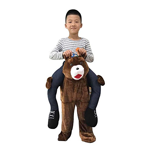 Child Ride on a Bear Costume For Kids